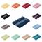 Kvalitatīvs kokvilnas dvielis Rio Color 500 g/m2, 50x100, 70x140cm, Vācija