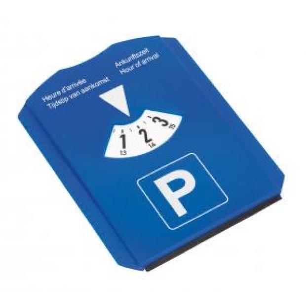 Stāvvietas laika rādītājs automašīnām ar apdruku (cena bez logo)