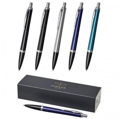 Parker lodīšu pildspalva Urban ar zilu tinti ar apdruku (cena bez logo)