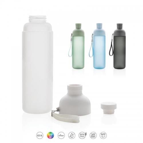 Ūdens pudeles 600ml ar apdruku (cena bez logo)