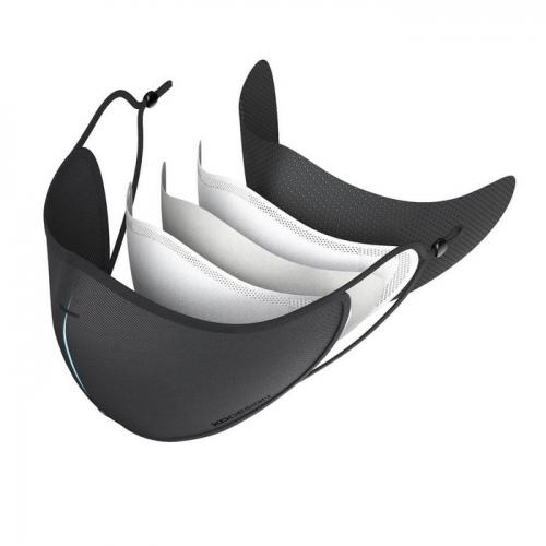 3 slāņu daudzreizlietojama sejas maska ar apdruku (cena bez logo)