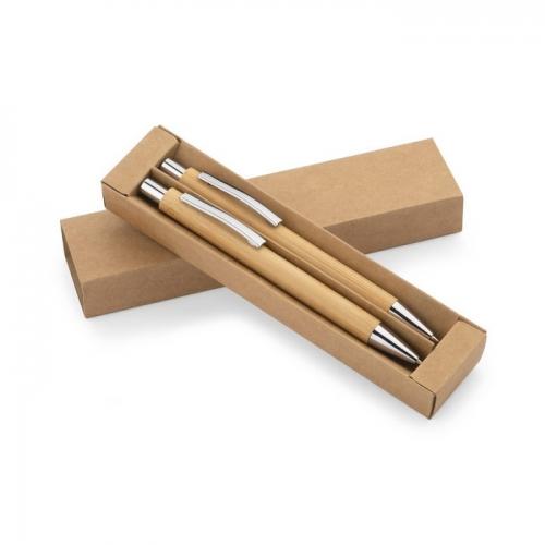 Rakstāmpiederumu komplekti Bamboo ar apdruku (cena bez logo)
