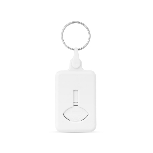 Atslēgu piekariņš ar monētu BIS ar apdruku (cena bez logo)