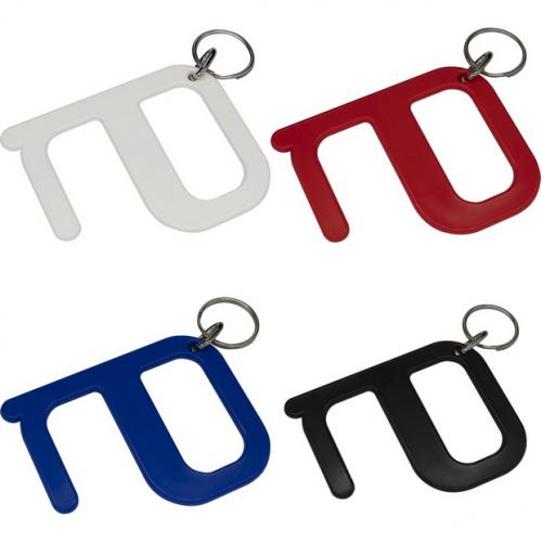 Bezkontakta multifunkcionāls atslēgu piekariņš ar apdruku (cena bez logo)