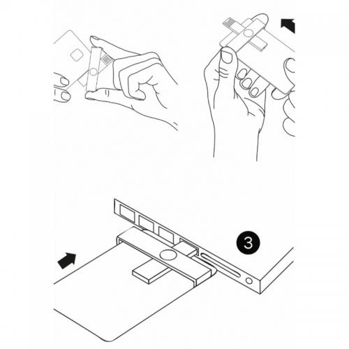 +ID smart card reader USB Blister