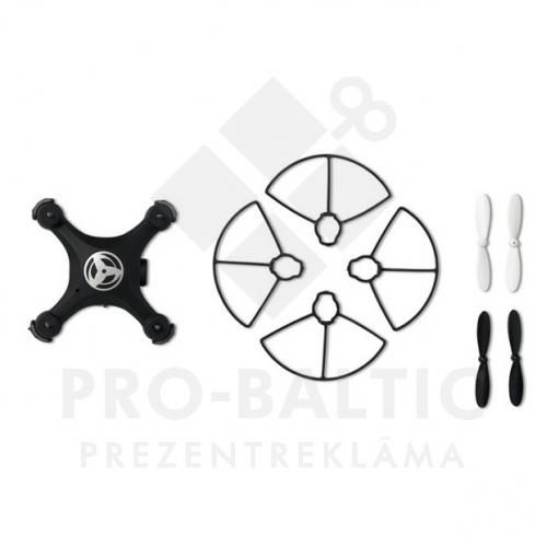 Droni X3 ar logo