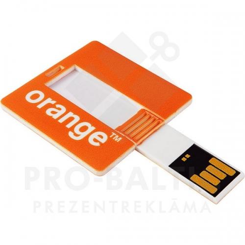 * Kredītkartes formas USB atmiņa DUSSC04