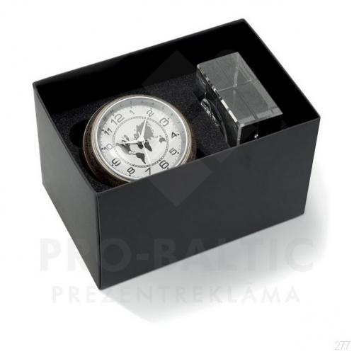 Galda pulksteņi Wordy ar apdruku (cena bez logo)