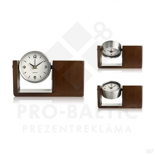 Galda pulksteņi Nors ar apdruku (cena bez logo)