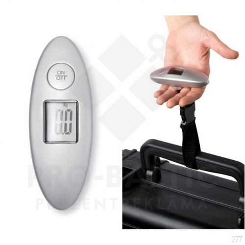 Bagāžas svari Werta ar apdruku (cena bez logo)