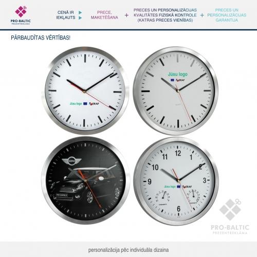 Sienas pulkstenis Ø 40 cm pēc individuāla dizaina