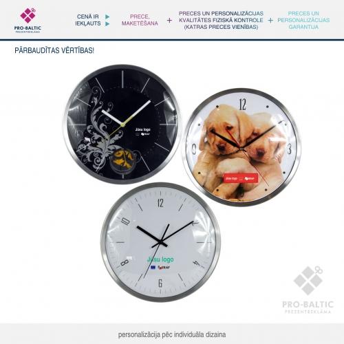 Sienas pulkstenis  Ø 32.5 pēc individuāla dizaina