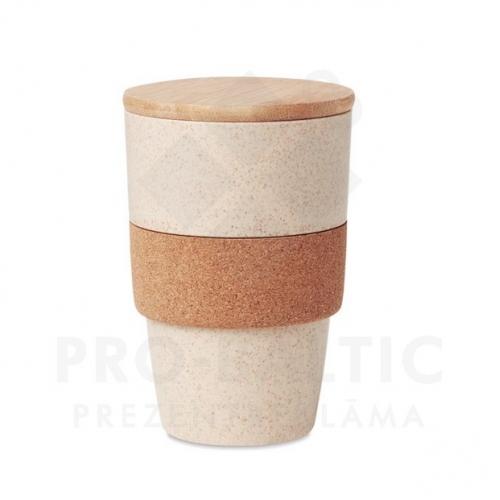Bambusa krūzes 420ml Laza ar apdruku (cena bez logo)