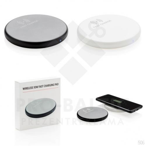 10W bezvadu uzlādes platformas ar apdruku (cena bez logo)