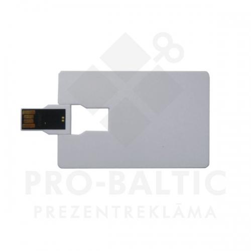 Kredītkartes formas USB atmiņa