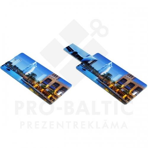 * Kredītkartes formas USB atmiņa DUSMC03