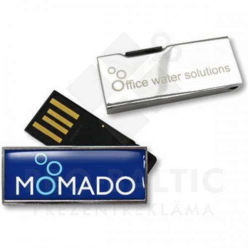 * Metāla USB atmiņa DUSST14