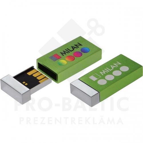 * Metāla USB atmiņa DUSM10