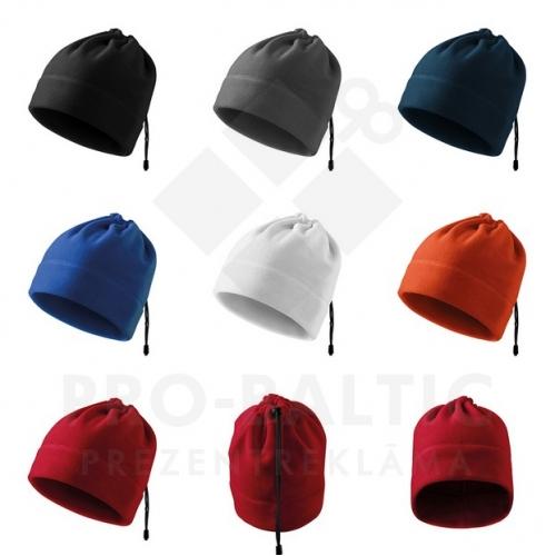 Dauzfunkcionālas cepures Prate ar apdruku (cena bez logo)