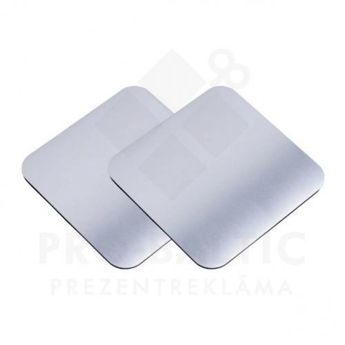 Alumīnija krūzes paliktņi (2 gab.) Trese ar apdruku (cena bez logo)