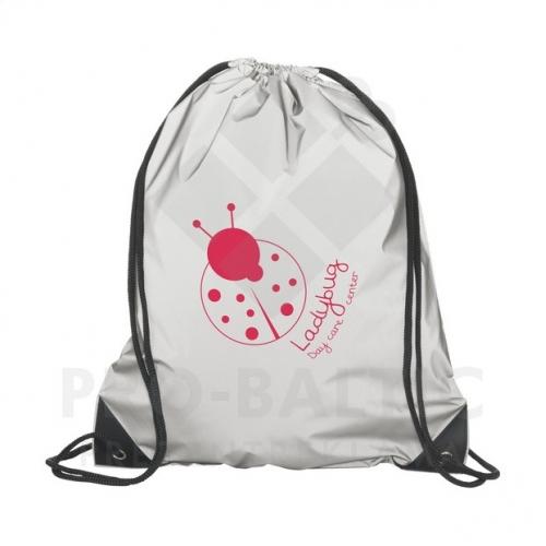 Atstarojošas sporta mugursomas ar apdruku (cena bez logo)