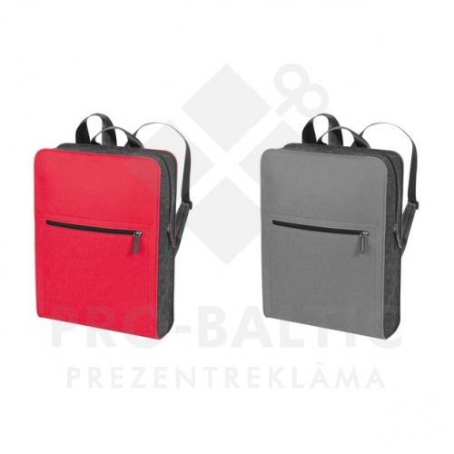 Filca mugursomas somas ar apdruku (cena bez logo)