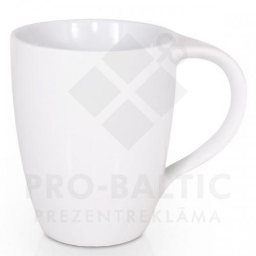 Porcelāna krūze ar izliektu osu, 320 ml