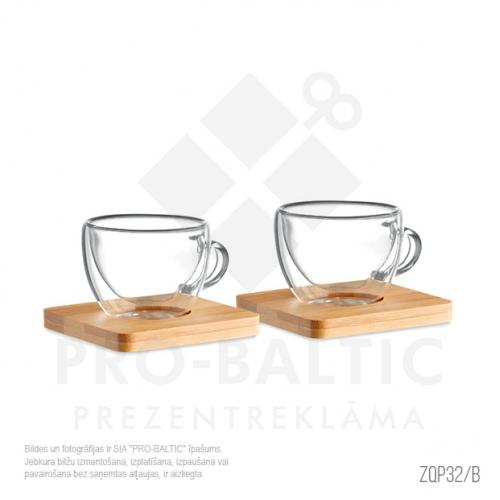 2 espresso glāzīšu komplekts ZQP32-B